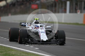 World © Octane Photographic Ltd. Formula 1 – Spanish GP - Race. Williams Martini Racing FW41 – Sergey Sirotkin. Circuit de Barcelona-Catalunya, Spain. Sunday 13th May 2018.