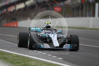 World © Octane Photographic Ltd. Formula 1 – Spanish GP - Race. Mercedes AMG Petronas Motorsport AMG F1 W09 EQ Power+ - Valtteri Bottas. Circuit de Barcelona-Catalunya, Spain. Sunday 13th May 2018.
