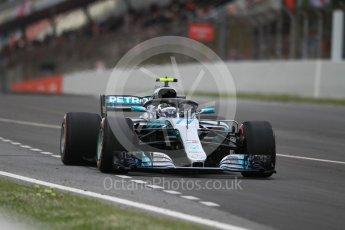 World © Octane Photographic Ltd. Formula 1 – Spanish GP - Race. Mercedes AMG Petronas Motorsport AMG F1 W09 EQ Power+ - Valtteri Bottas. Circuit de Barcelona-Catalunya, Spain. Sunday 13th May 2018.