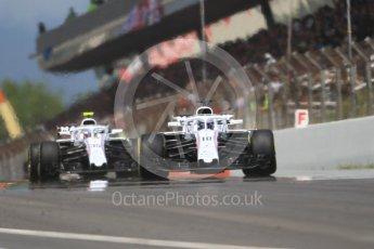 World © Octane Photographic Ltd. Formula 1 – Spanish GP - Race. Williams Martini Racing FW41 – Lance Stroll. Circuit de Barcelona-Catalunya, Spain. Sunday 13th May 2018.