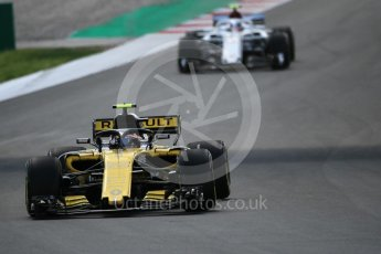 World © Octane Photographic Ltd. Formula 1 – Spanish GP - Race. Renault Sport F1 Team RS18 – Carlos Sainz. Circuit de Barcelona-Catalunya, Spain. Sunday 13th May 2018.