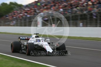 World © Octane Photographic Ltd. Formula 1 – Spanish GP - Race. Williams Martini Racing FW41 – Lance Stroll. Circuit de Barcelona-Catalunya, Spain. Sunday 13th May 2018.