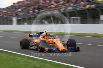 World © Octane Photographic Ltd. Formula 1 – Spanish GP - Race. McLaren MCL33 – Stoffel Vandoorne. Circuit de Barcelona-Catalunya, Spain. Sunday 13th May 2018.