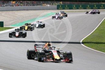 World © Octane Photographic Ltd. Formula 1 – Spanish GP - Race. Haas F1 Team VF-18 – Kevin Magnussen. Circuit de Barcelona-Catalunya, Spain. Sunday 13th May 2018.