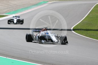 World © Octane Photographic Ltd. Formula 1 – Spanish GP - Race. Alfa Romeo Sauber F1 Team C37 – Marcus Ericsson. Circuit de Barcelona-Catalunya, Spain. Sunday 13th May 2018.