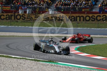 World © Octane Photographic Ltd. Formula 1 – Spanish GP - Race. Mercedes AMG Petronas Motorsport AMG F1 W09 EQ Power+ - Lewis Hamilton. Circuit de Barcelona-Catalunya, Spain. Sunday 13th May 2018.