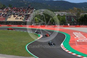 World © Octane Photographic Ltd. Formula 1 – Spanish GP - Race. Mercedes AMG Petronas Motorsport AMG F1 W09 EQ Power+ - Lewis Hamilton. Circuit de Barcelona-Catalunya, Spain. Sunday 13th May 2018.