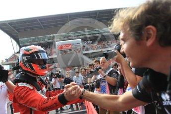 World © Octane Photographic Ltd. GP3 – Spanish GP – Race 1. ART Grand Prix - Nikita Mazepin. Circuit de Barcelona-Catalunya, Spain. Saturday 12th May 2018.