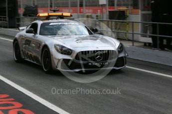 World © Octane Photographic Ltd. GP3 – Spanish GP –   Race 1. Mercedes AMG Safety Car. Circuit de Barcelona-Catalunya, Spain. Saturday 12th May 2018.
