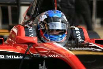 World © Octane Photographic Ltd. GP3 – Spanish GP – Race 1. ART Grand Prix – Jake Hughes. Circuit de Barcelona-Catalunya, Spain. Saturday 12th May 2018.