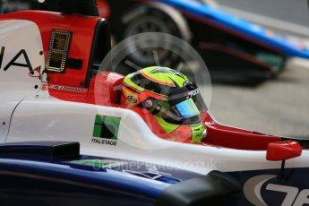 World © Octane Photographic Ltd. GP3 – Spanish GP – Race 1. Trident - Alessia Lorando. Circuit de Barcelona-Catalunya, Spain. Saturday 12th May 2018.