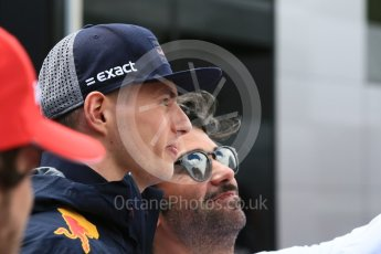 World © Octane Photographic Ltd. Formula 1 – Spanish GP - Sunday Paddock. Aston Martin Red Bull Racing TAG Heuer RB14 – Max Verstappen. Circuit de Barcelona-Catalunya, Spain. Sunday 13th May 2018.