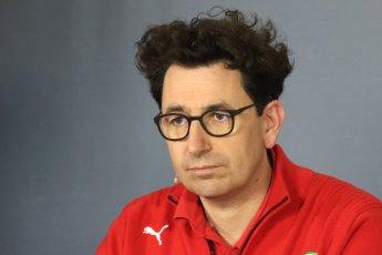 World © Octane Photographic Ltd. Formula 1 - Spanish GP – Friday Team Press Conference. Mattia Binotto – Chief Technical Officer - Scuderia Ferrari. Circuit de Barcelona-Catalunya, Spain. Friday 11th May 2018.