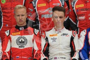 World © Octane Photographic Ltd. GP3 – Spanish GP – Class of 2018.ART Grand Prix - Nikita Mazepin and Jake Hughes. Circuit de Barcelona-Catalunya, Spain. Thursday 10th May 2018.