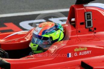 World © Octane Photographic Ltd. GP3 – Spanish GP – Practice. Arden International - Gabriel Aubry. Circuit de Barcelona-Catalunya, Spain. Friday 11th May 2018.