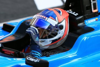 World © Octane Photographic Ltd. GP3 – Spanish GP – Practice. Jenzer Motorsport - Tatiana Calderon. Circuit de Barcelona-Catalunya, Spain. Friday 11th May 2018.
