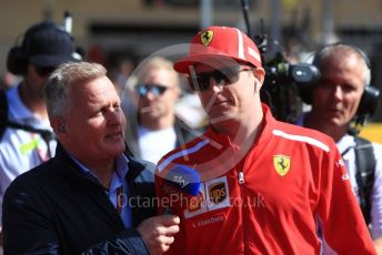 World © Octane Photographic Ltd. Formula 1 – United States GP - Drivers Parade. Scuderia Ferrari SF71-H – Kimi Raikkonen. Circuit of the Americas (COTA), USA. Sunday 21st October 2018.