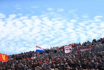 World © Octane Photographic Ltd. Formula 1 – United States GP – Grid. Fans at Turn 1. Circuit of the Americas (COTA), USA. Sunday 21st October 2018.