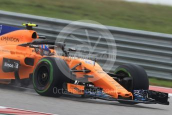 World © Octane Photographic Ltd. Formula 1 – United States GP - Practice 1. McLaren MCL33 Reserve Driver – Lando Norris. Circuit of the Americas (COTA), USA. Friday 19th October 2018.