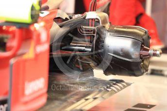 World © Octane Photographic Ltd. Formula 1 – United States GP - Practice 3. Scuderia Ferrari SF71-H – floor. Circuit of the Americas (COTA), USA. Saturday 20th October 2018.