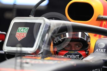 World © Octane Photographic Ltd. Formula 1 – United States GP - Practice 3. Aston Martin Red Bull Racing TAG Heuer RB14 – Max Verstappen. Circuit of the Americas (COTA), USA. Saturday 20th October 2018.