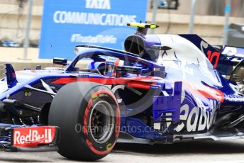 World © Octane Photographic Ltd. Formula 1 – United States GP - Practice 3. Scuderia Toro Rosso STR13 – Pierre Gasly. Circuit of the Americas (COTA), USA. Saturday 20th October 2018.