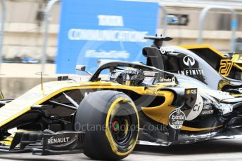World © Octane Photographic Ltd. Formula 1 – United States GP - Practice 3. Renault Sport F1 Team RS18 – Nico Hulkenberg. Circuit of the Americas (COTA), USA. Saturday 20th October 2018.