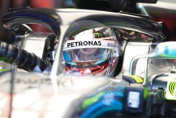 World © Octane Photographic Ltd. Formula 1 – United States GP – Practice 3. Mercedes AMG Petronas Motorsport AMG F1 W09 EQ Power+ - Lewis Hamilton. Circuit of the Americas (COTA), USA. Saturday 20th October 2018.