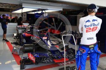 World © Octane Photographic Ltd. Formula 1 – United States GP - Practice 3. Scuderia Toro Rosso STR13 – Brendon Hartley. Circuit of the Americas (COTA), USA. Saturday 20th October 2018.