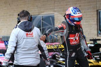 World © Octane Photographic Ltd. Formula 1 – United States GP - Qualifying. Haas F1 Team VF-18 – Romain Grosjean. Circuit of the Americas (COTA), USA. Saturday 20th October 2018.