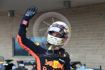 World © Octane Photographic Ltd. Formula 1 – United States GP - Qualifying. Aston Martin Red Bull Racing TAG Heuer RB14 – Daniel Ricciardo. Circuit of the Americas (COTA), USA. Saturday 20th October 2018.
