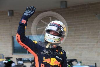 World © Octane Photographic Ltd. Formula 1 – United States GP - Qualifying. Aston Martin Red Bull Racing TAG Heuer RB14 – Daniel Ricciardo. Circuit of the Americas (COTA), USA. Saturday 20th October 2018.