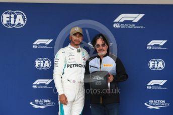 World © Octane Photographic Ltd. Formula 1 – United States GP – Qualifying. Mercedes AMG Petronas Motorsport AMG F1 W09 EQ Power+ - Lewis Hamilton. Circuit of the Americas (COTA), USA. Saturday 20th October 2018.