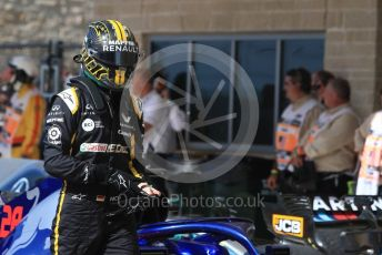World © Octane Photographic Ltd. Formula 1 – United States GP - Race. Renault Sport F1 Team RS18 – Nico Hulkenberg. Circuit of the Americas (COTA), USA. Sunday 21st October 2018.