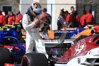 World © Octane Photographic Ltd. Formula 1 – United States GP - Race. Alfa Romeo Sauber F1 Team C37 – Marcus Ericsson. Circuit of the Americas (COTA), USA. Sunday 21st October 2018.