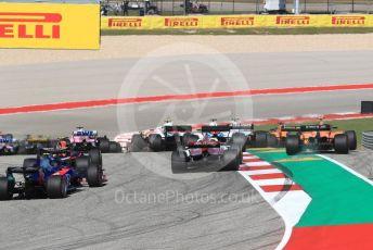 World © Octane Photographic Ltd. Formula 1 – United States GP - Race. McLaren MCL33 – Stoffel Vandoorne. Circuit of the Americas (COTA), USA. Sunday 21st October 2018.