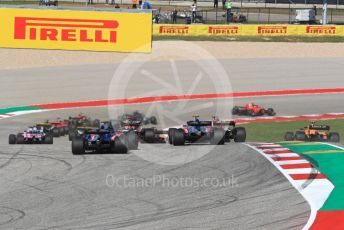 World © Octane Photographic Ltd. Formula 1 – United States GP - Race. Scuderia Toro Rosso STR13 – Brendon Hartley. Circuit of the Americas (COTA), USA. Sunday 21st October 2018.