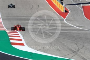 World © Octane Photographic Ltd. Formula 1 – United States GP - Race. Scuderia Ferrari SF71-H – Kimi Raikkonen. Circuit of the Americas (COTA), USA. Sunday 21st October 2018.