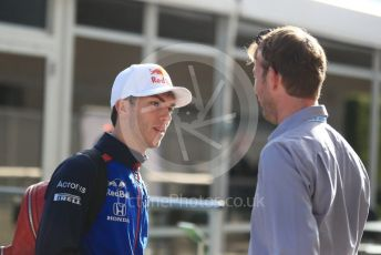 World © Octane Photographic Ltd. Formula 1 – United States GP - Paddock. Scuderia Toro Rosso STR13 – Pierre Gasly. Circuit of the Americas (COTA), USA. Sunday 21st October 2018.