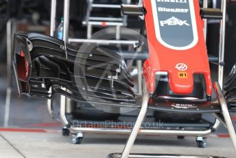 World © Octane Photographic Ltd. Formula 1 – United States GP - Pit Lane. Haas F1 Team VF-18. Circuit of the Americas (COTA), USA. Thursday 18th October 2018.