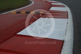 World © Octane Photographic Ltd. Formula 1 – United States GP - Track Walk. New Kerb on Turn 17. Circuit of the Americas (COTA), USA. Thursday 18th October 2018.