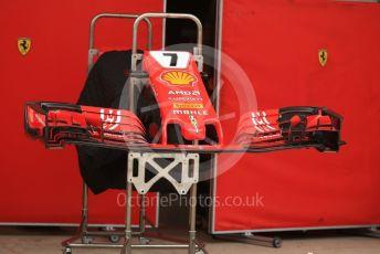 World © Octane Photographic Ltd. Formula 1 – United States GP – Pit Lane Setup. Scuderia Ferrari. Circuit of the Americas (COTA), USA. Wednesday 17th October 2018.