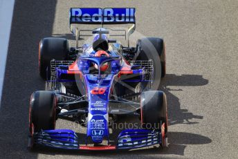 World © Octane Photographic Ltd. Formula 1 – Abu Dhabi GP - Practice 1. Scuderia Toro Rosso STR14 – Daniil Kvyat. Yas Marina Circuit, Abu Dhabi, UAE. Friday 29th November 2019.