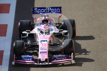 World © Octane Photographic Ltd. Formula 1 – Abu Dhabi GP - Practice 1. SportPesa Racing Point RP19 - Sergio Perez. Yas Marina Circuit, Abu Dhabi, UAE. Friday 29th November 2019.