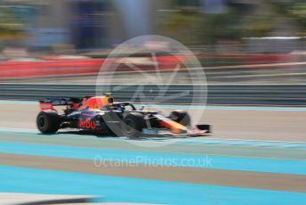 World © Octane Photographic Ltd. Formula 1 – Abu Dhabi GP - Practice 1. Aston Martin Red Bull Racing RB15 – Alexander Albon. Yas Marina Circuit, Abu Dhabi, UAE. Friday 29th November 2019.