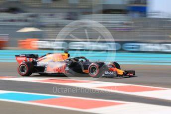 World © Octane Photographic Ltd. Formula 1 – Abu Dhabi GP - Practice 1. Aston Martin Red Bull Racing RB15 – Max Verstappen. Yas Marina Circuit, Abu Dhabi, UAE. Friday 29th November 2019.