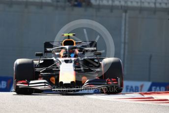 World © Octane Photographic Ltd. Formula 1 – Abu Dhabi GP - Practice 1. Aston Martin Red Bull Racing RB15 – Alexander Albon. Yas Marina Circuit, Abu Dhabi, UAE. Friday 29th November 2019.