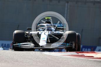 World © Octane Photographic Ltd. Formula 1 – Abu Dhabi GP - Practice 1. Mercedes AMG Petronas Motorsport AMG F1 W10 EQ Power+ - Valtteri Bottas. Yas Marina Circuit, Abu Dhabi, UAE. Friday 29th November 2019.