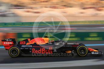 World © Octane Photographic Ltd. Formula 1 – Abu Dhabi GP - Practice 2. Aston Martin Red Bull Racing RB15 – Alexander Albon. Yas Marina Circuit, Abu Dhabi, UAE. Friday 29th November 2019.