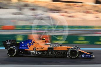 World © Octane Photographic Ltd. Formula 1 – Abu Dhabi GP - Practice 2. McLaren MCL34 – Lando Norris. Yas Marina Circuit, Abu Dhabi, UAE. Friday 29th November 2019.
